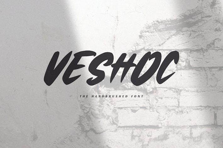 Veshoc - La police brossée à la main