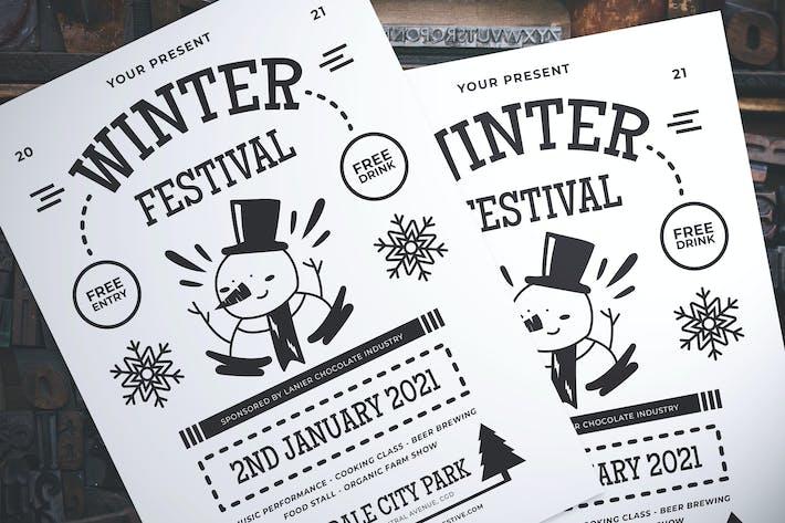 Thumbnail for Winter Fest Flyer