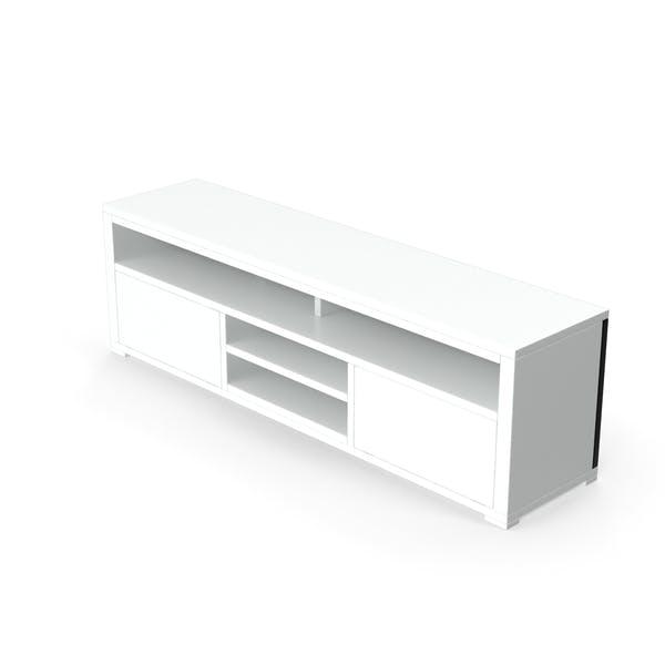 TV-Ständer weiß
