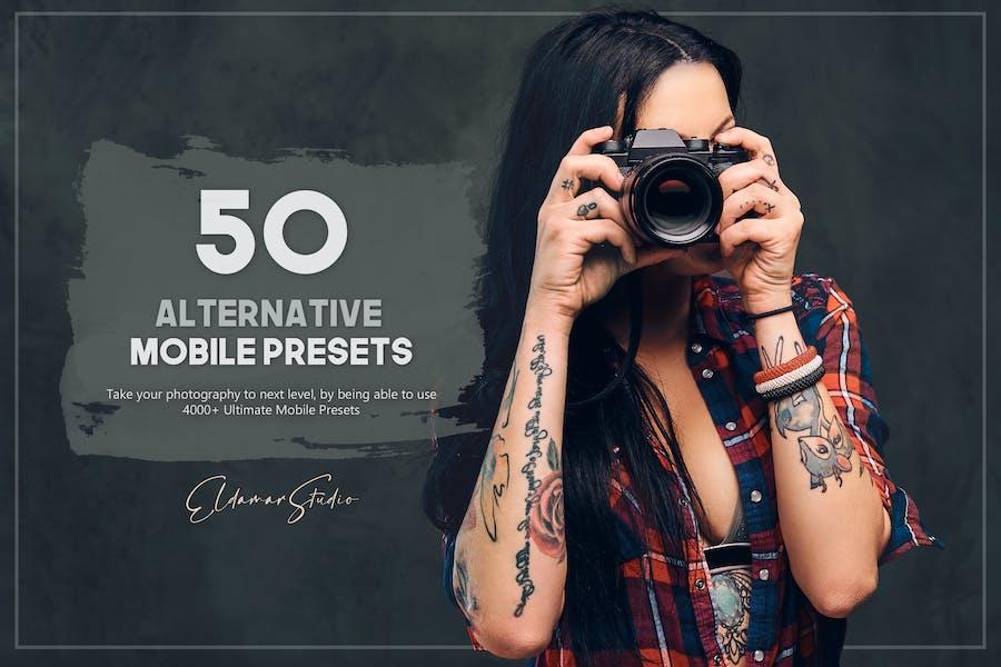 50 Alternative Mobile Presets Pack