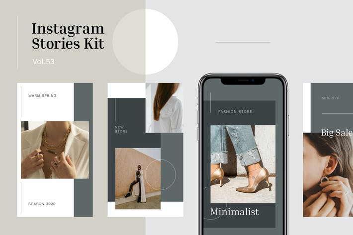 Cover Image For Instagram Stories Kit (Vol.53)