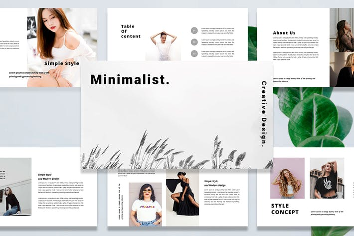 Minimalist - Keynote Template
