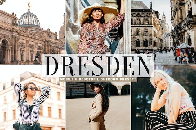 Dresden Mobile & Desktop Lightroom Presets - product preview 5