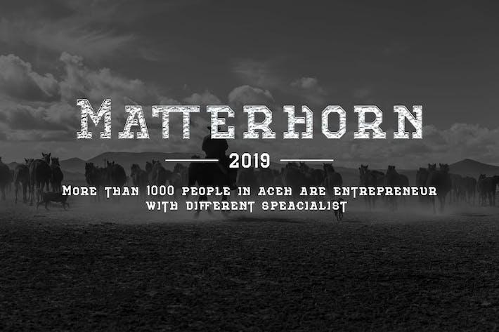 Thumbnail for Matterhorn