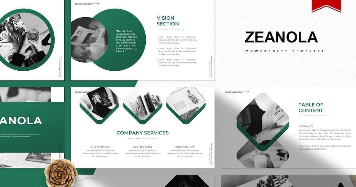 Download Zeanola | Powerpoint Template by Vunira