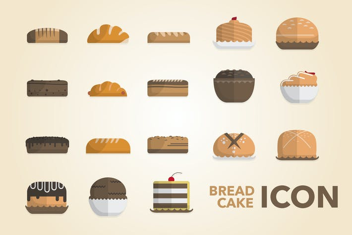 Thumbnail for Bread & Cake Icon