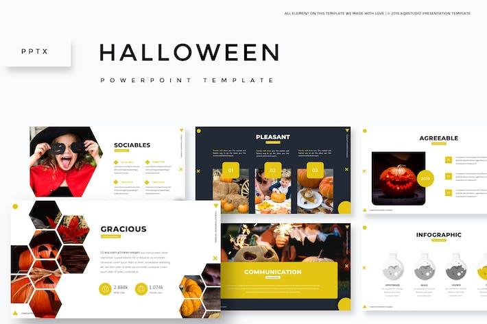 Thumbnail for Hallowen - Powerpoint Template