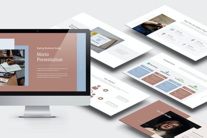 Thumbnail for Морио: Стартап Инвестор Отношения Powerpoint