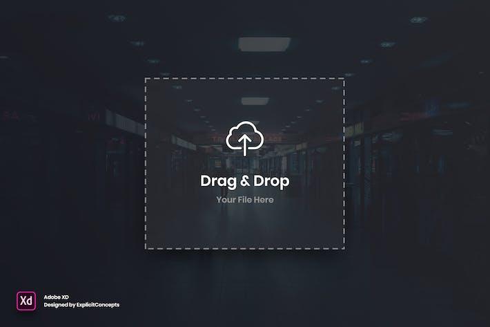 Thumbnail for Drag Image Widget - Adobe XD