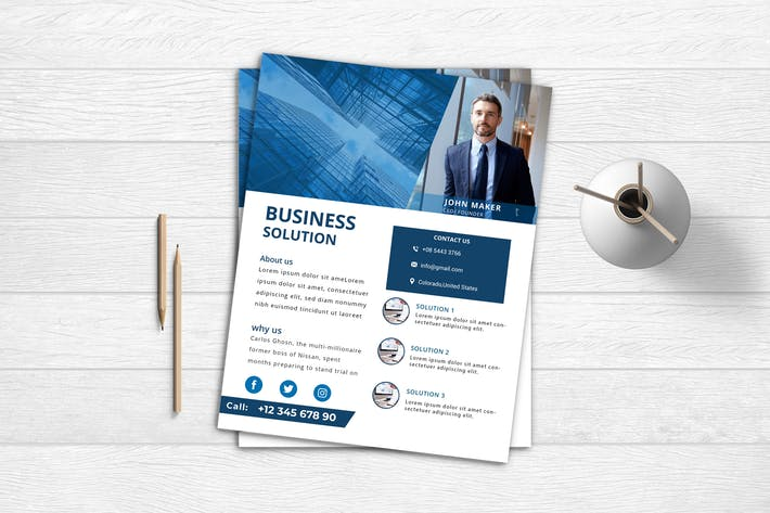 Thumbnail for Business Flyer 7
