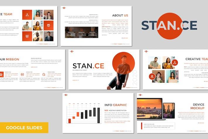 Stance - Многоцелевой Шаблон Google Слайдов