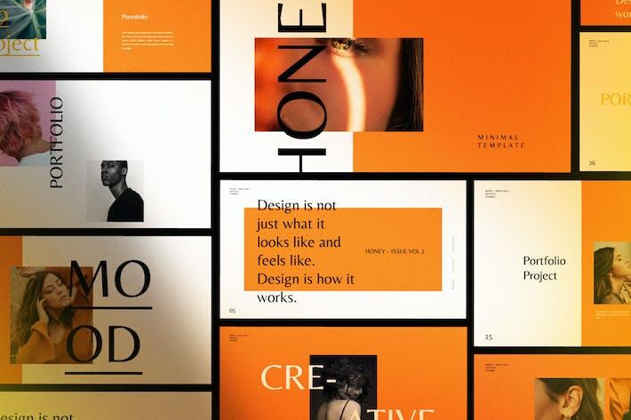 Thumbnail for HONEY - Creative  Powerpoint Fashion