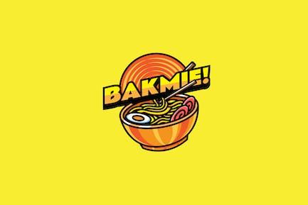 Noodle - Mascot Logo