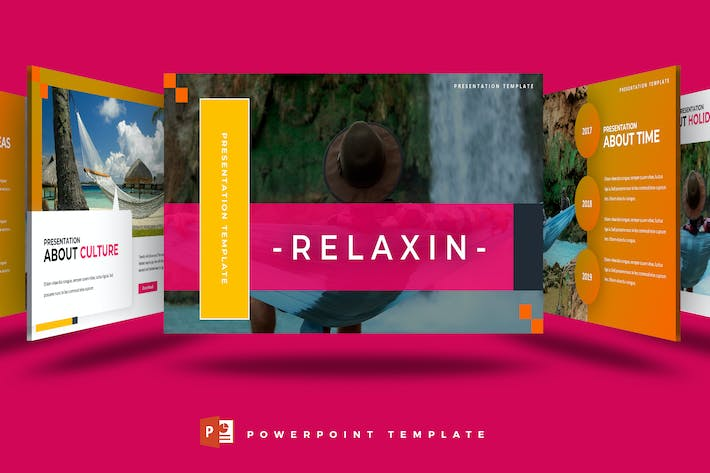 Relaxin - Powerpoint Template by aqrstudio on Envato Elements