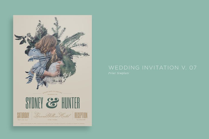 Thumbnail for Wedding Invitation V07