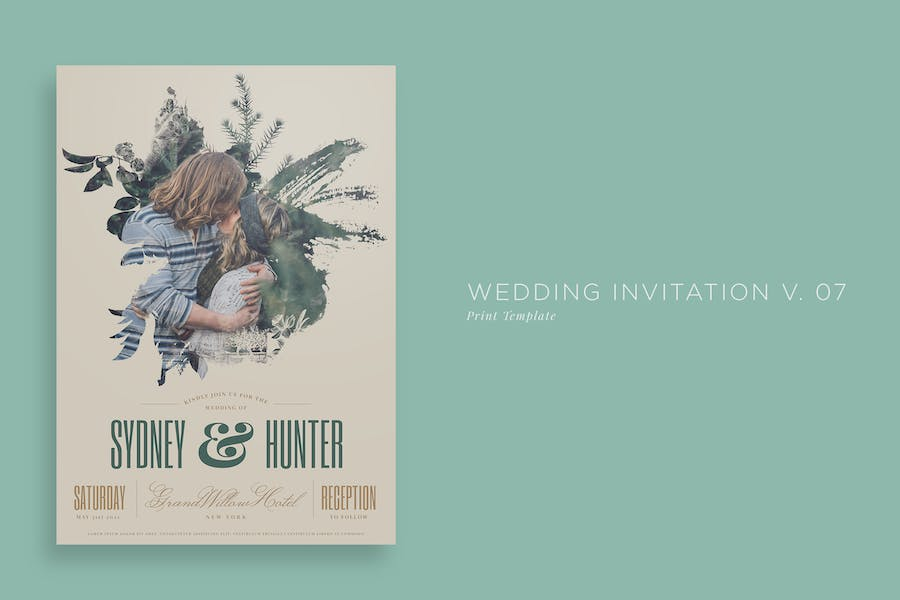 Wedding Invitation V07