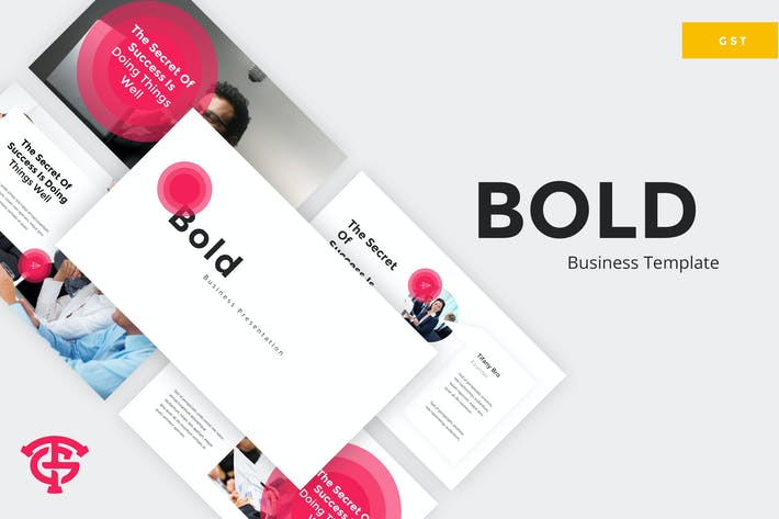 Thumbnail for Bold Business - Google Slides