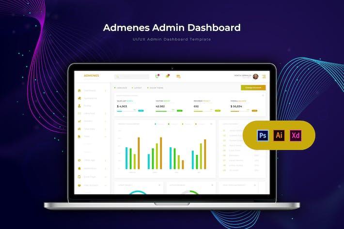 Thumbnail for Admenes Dashboard | Admin Template