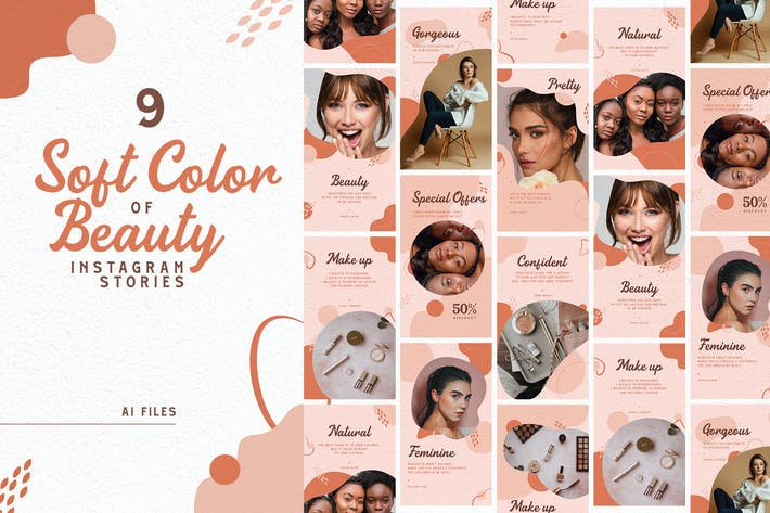 Thumbnail for Soft Color of Beauty Instagram Stories