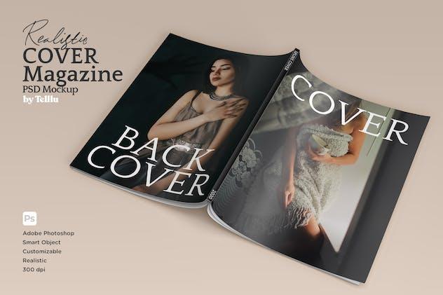 Magazine Mockup V02 Cover