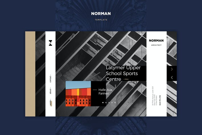 Thumbnail for Norman PSD Template