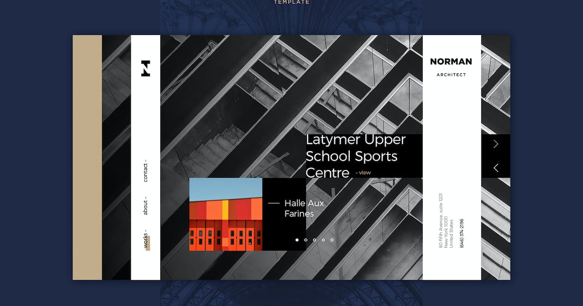 Download Norman PSD Template by Unknow