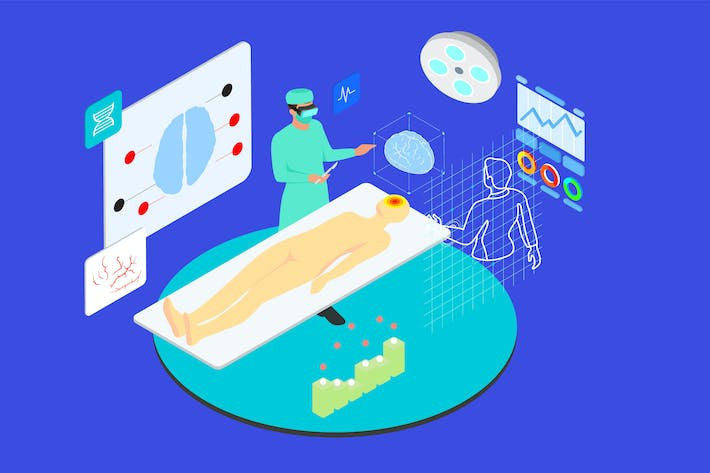 Thumbnail for Interact With Virtual Doctors Isometric - TU
