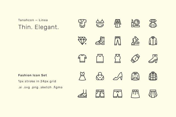 Mode-Icon-Set - Linea