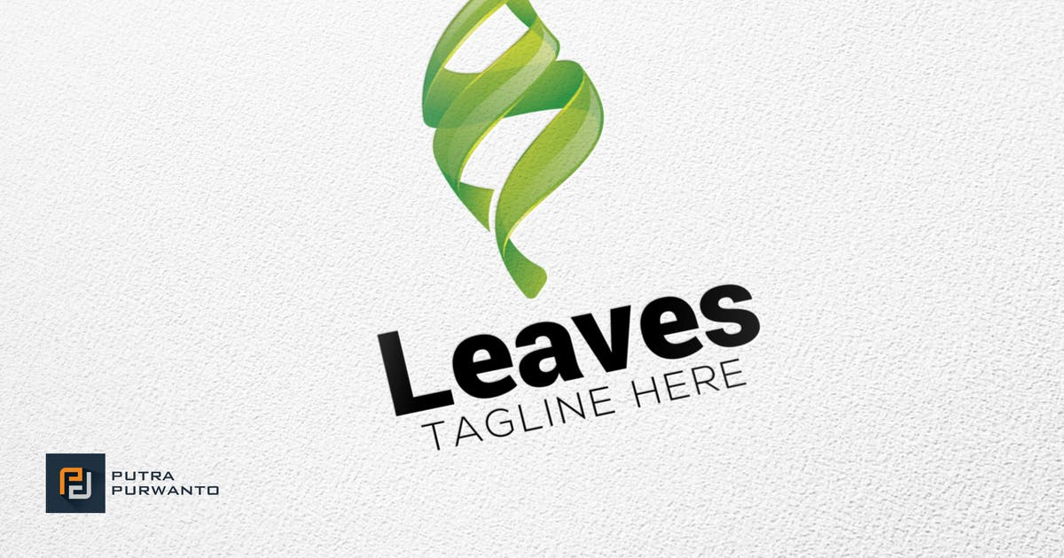 Download Leaves - Logo Template by putra_purwanto