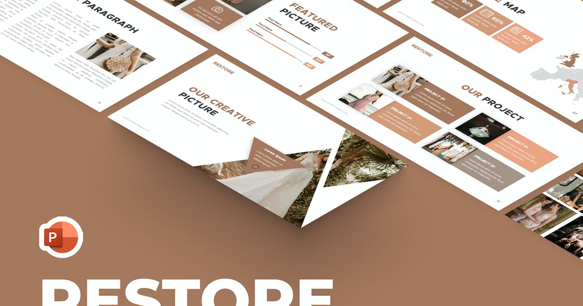 Download Restore Fashion Powerpoint Template by RRgraph
