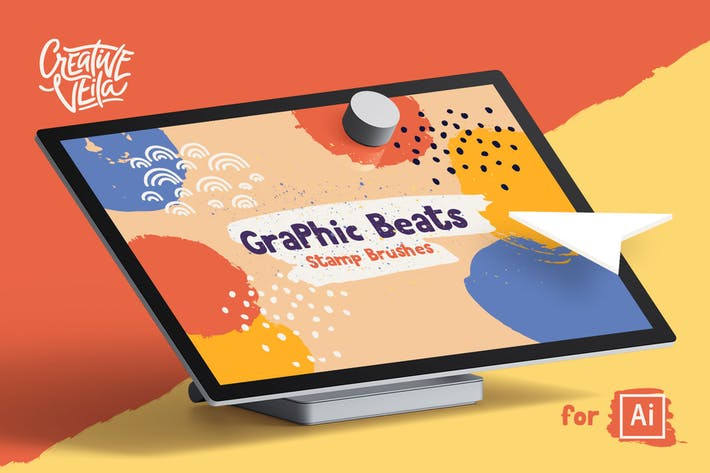 Thumbnail for Graphic Beats: Illustrator Brushes