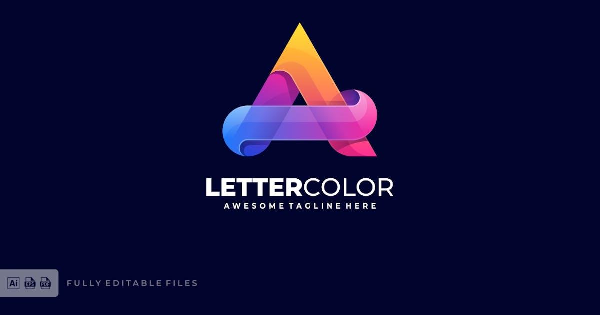 Download Letter A Colorful Logo Template by ivan_artnivora