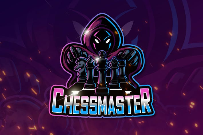 Thumbnail for CHESSMASTER Mascot & Esport Logo