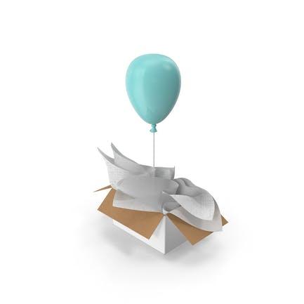 Blue Balloon Surprise Box