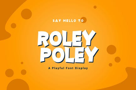 Roley Poley - Playful Font YR
