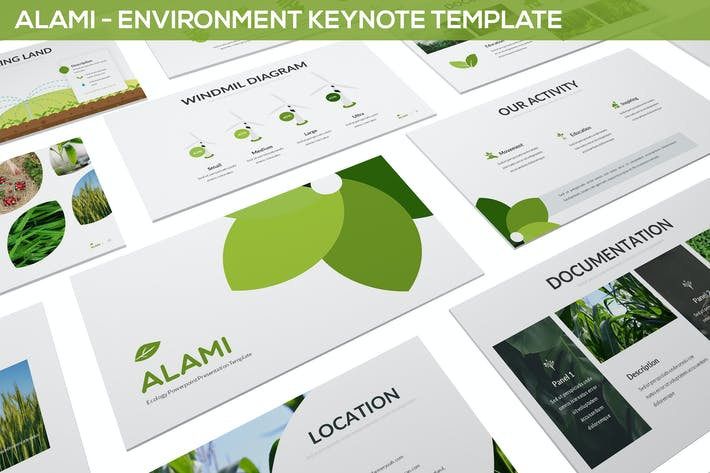 Thumbnail for Alami - Environment Keynote Template