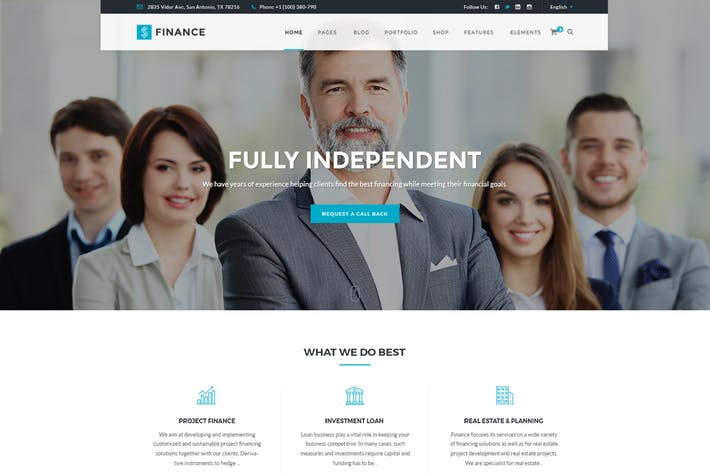 Cover Image For Ficonsu - Consultant Finance HTML Templates
