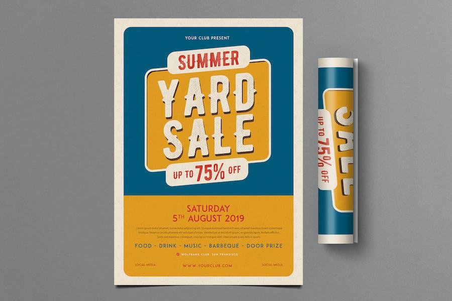 Vintage Summer Yard Sale