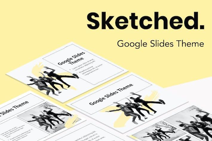 Thumbnail for Нарисованные Тема слайдов Google