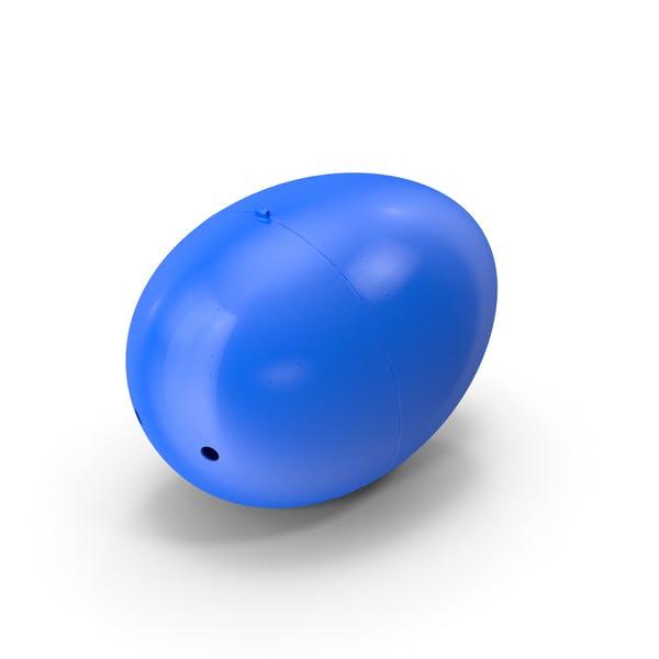Пластиковое пасхальное яйцо