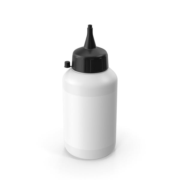 Glue Bottle Black
