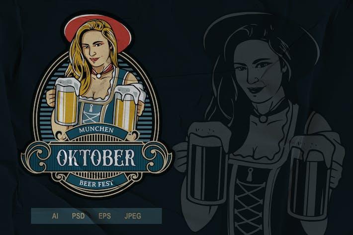 Thumbnail for Vintage Emblem - Oktoberfest V3