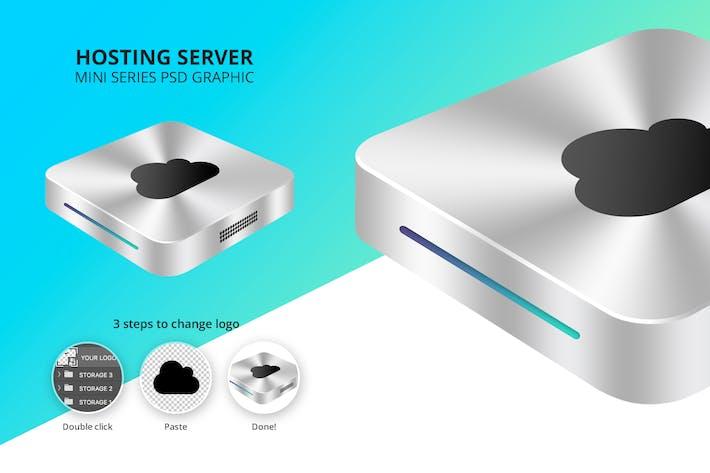 Hosting Server Mini Series - Single Silver