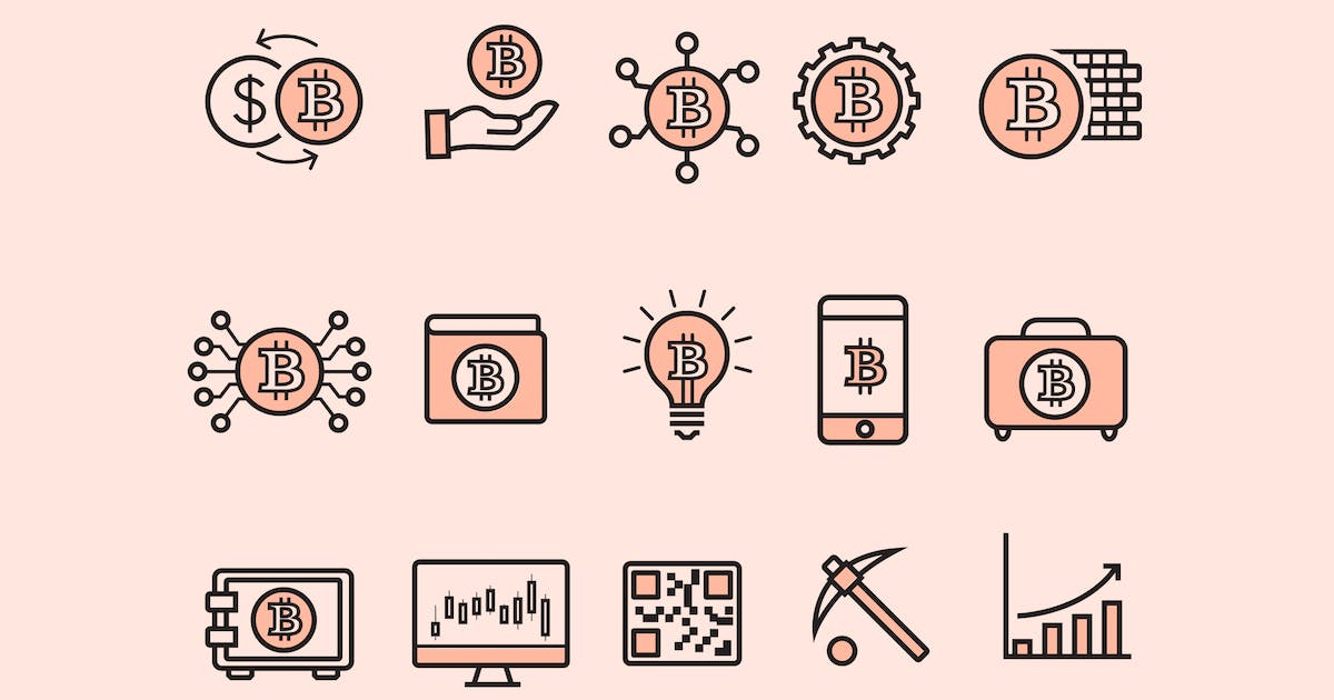 Download 15 Bitcoin Icons by creativevip