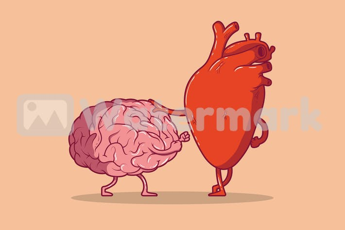 Thumbnail for Heart and brain fight