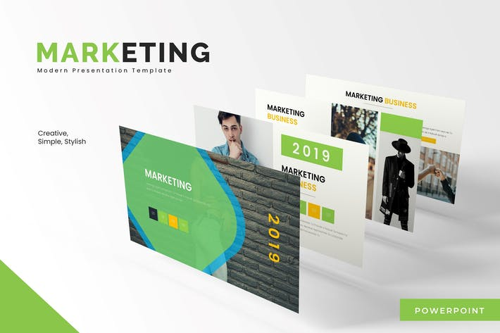 Marketing - Powerpoint Template