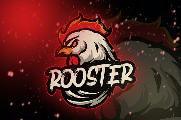 Rooster Esport Logo Vol. 3 - product preview 0