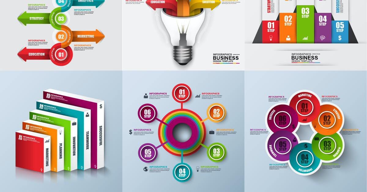 Download Marketing Infographic Elements by alexdndz