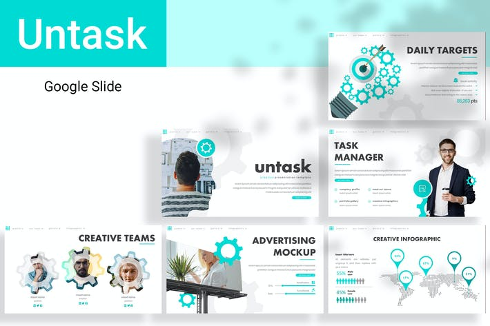 Thumbnail for Untask Google Slide