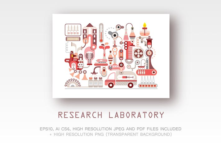 Thumbnail for Research laboratory and pharmaceutical manufacture